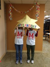 Maryland Day 2016 - Origami hat