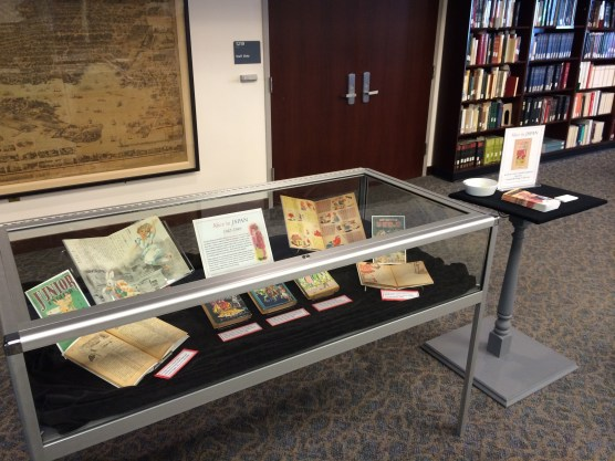 """""""Alice in Japan,"""" in display in the Maryland Room, Hornbake Library North."""