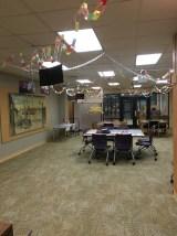 Making the 4th floor festive!