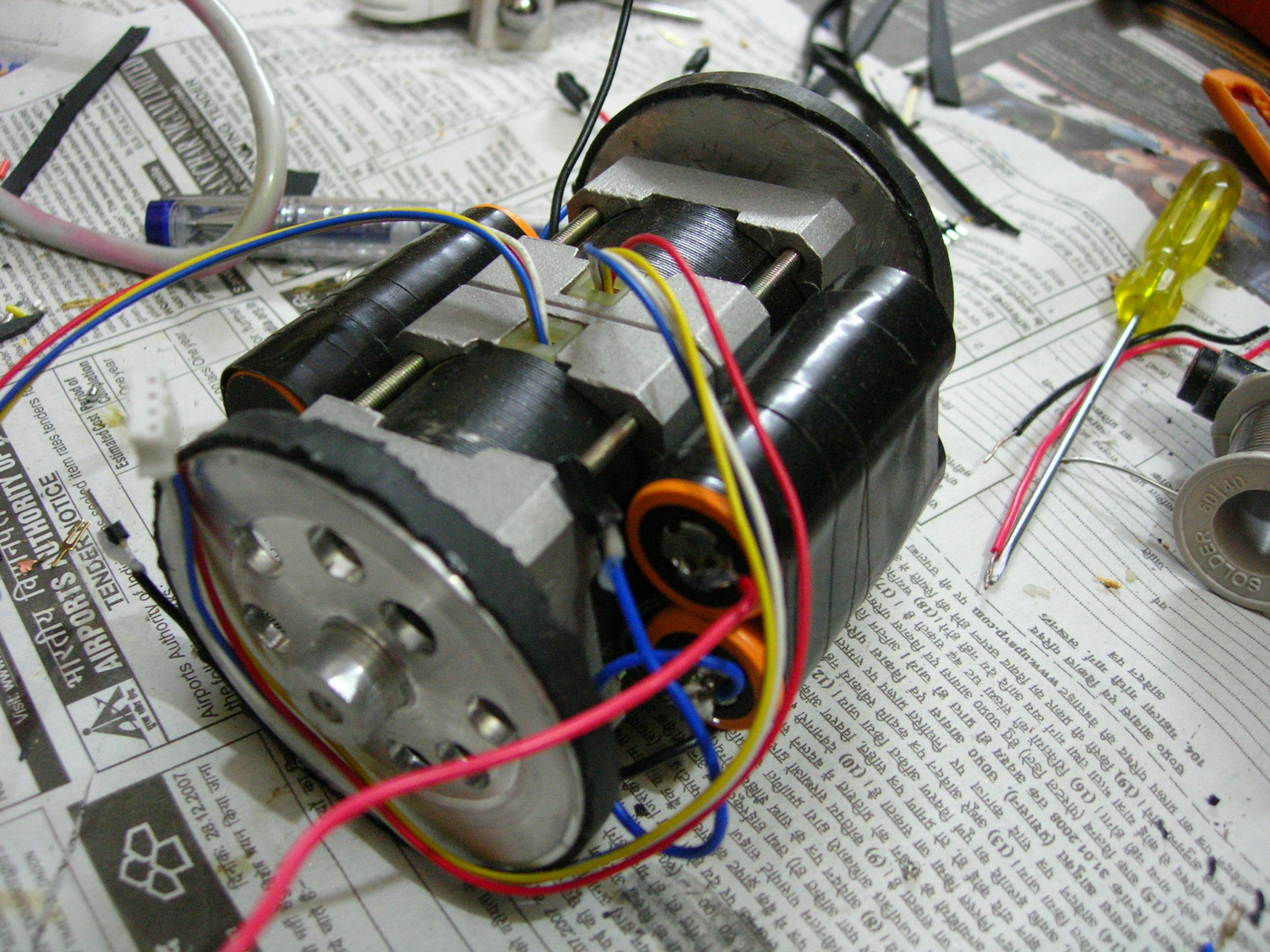 Dc Motors With Different Voltages And Currents I Designed A Hbridge