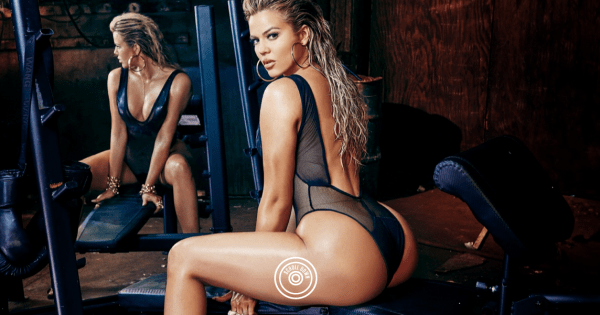 Saucy and Curvy Khloe Kardashian Complex Photoshoot