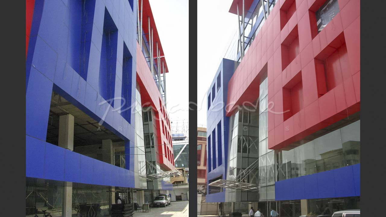 Residence - Shopping Mall. Hyderabad   PrasadBadle Architects
