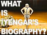 What is Iyengar's Biography