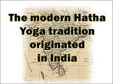 Yoga Originated in India