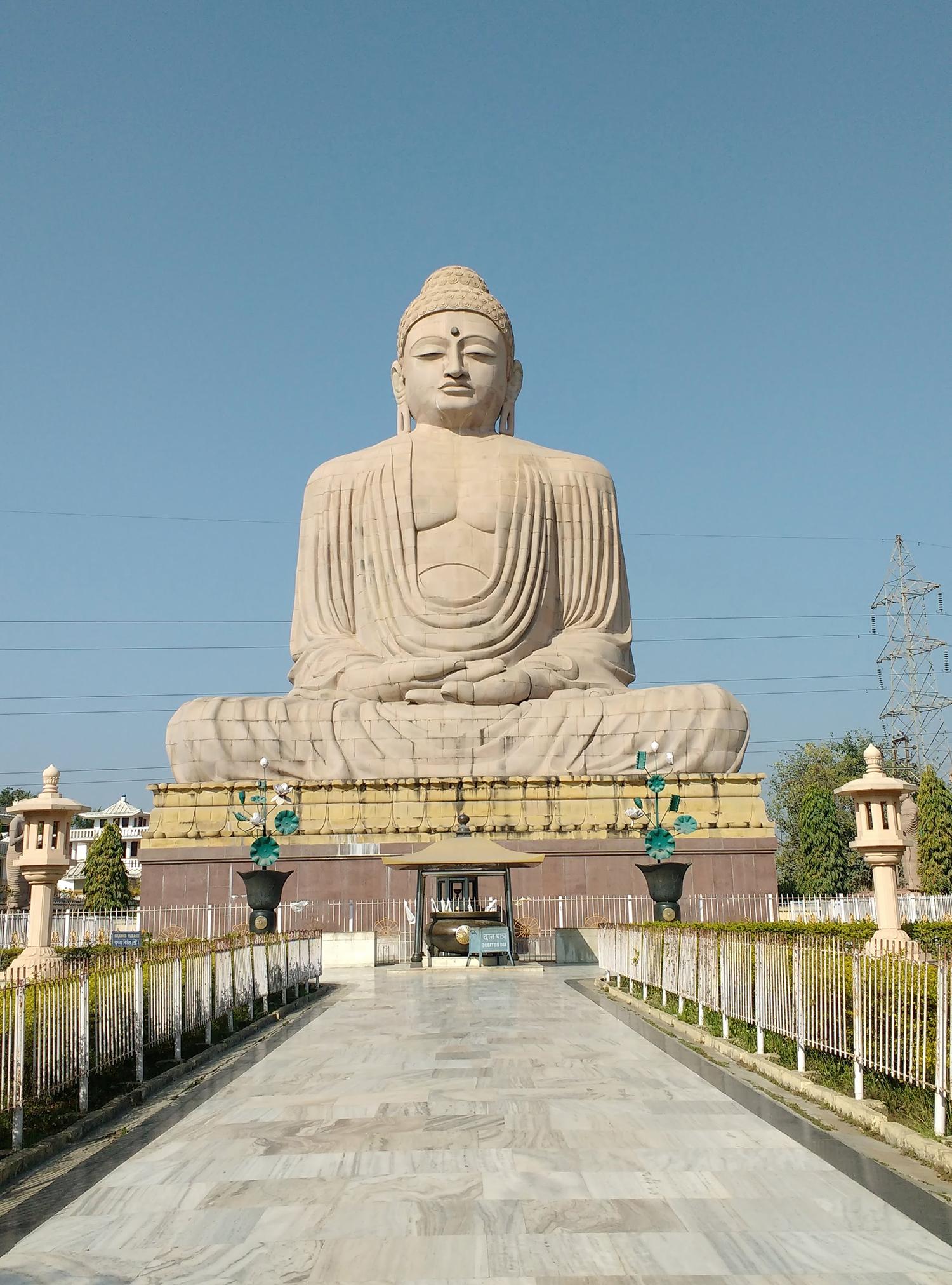 Buddha 80 feet statue