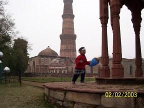 2003 -Qutub Minar -Delhi