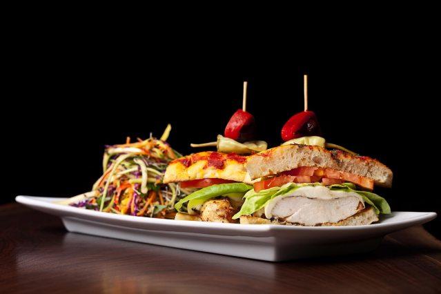 prasino - la grange, illinois - chicken sandwich