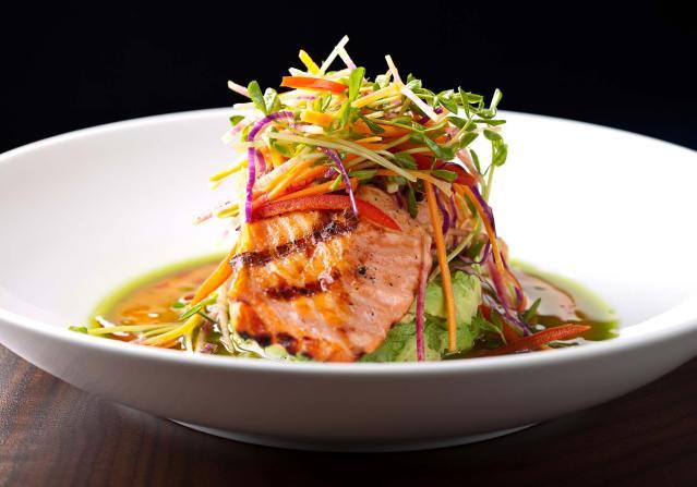 prasino - la grange, illinois - salmon fish