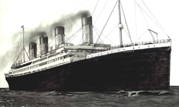 Jak šel ke dnu Titanik a má pověst s ním