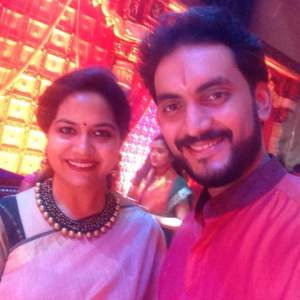 Prasobh Ramachandran with Sunita