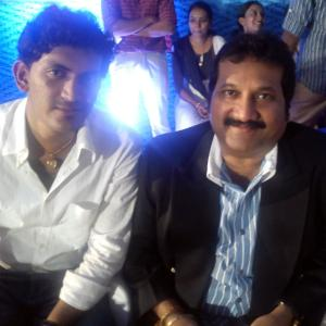Prasobh Ramachandran with Mano