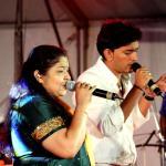 Prasobh Ramachandran with KS Chitra
