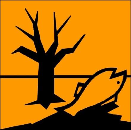 simbol dangerous for the environment