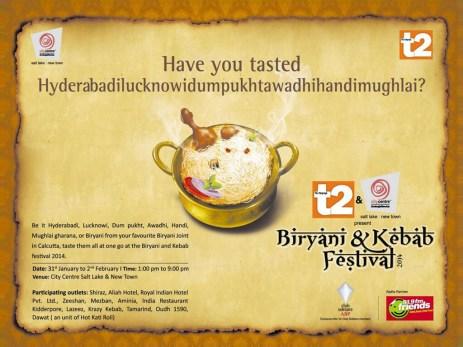 Biriyani Kebab Festival - Poster