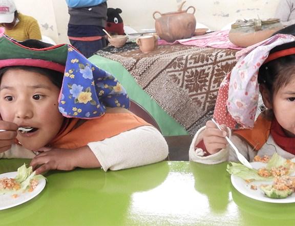 Puno: Muestra de alimentos en el Día Mundial de la Alimentación y Día Internacional de la Mujer Rural