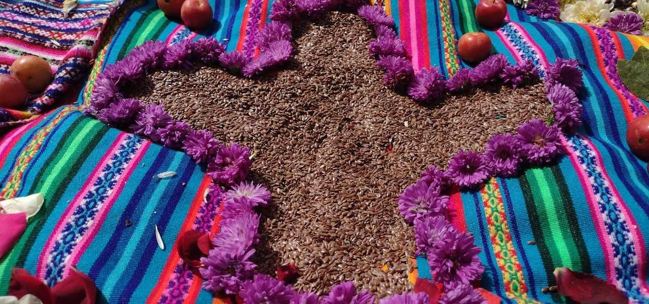 Celebraciones de Año Nuevo Andino se realizan con ceremonias rituales a las Semillas