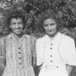 Liselotte Lang und Rosa Guerini