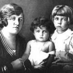 Helene Schaaf, Liselotte Lang und Alexander Schaaf, 1928
