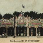 Familie Kobelkoff auf der Reise mit der Schaubühne, 1905