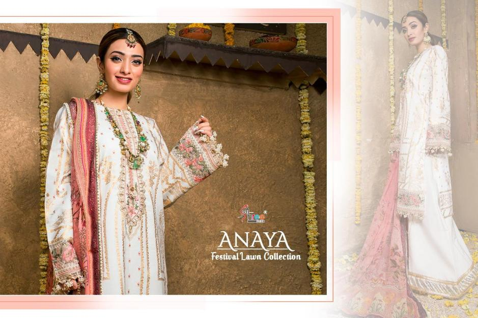 shree fabs anaya festival lawn collection catalogue wholesale price