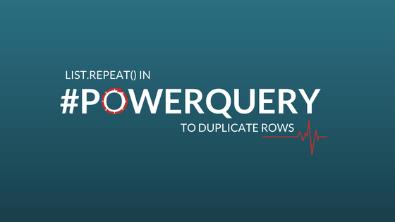 Power Query Archives - Prathy's Blog