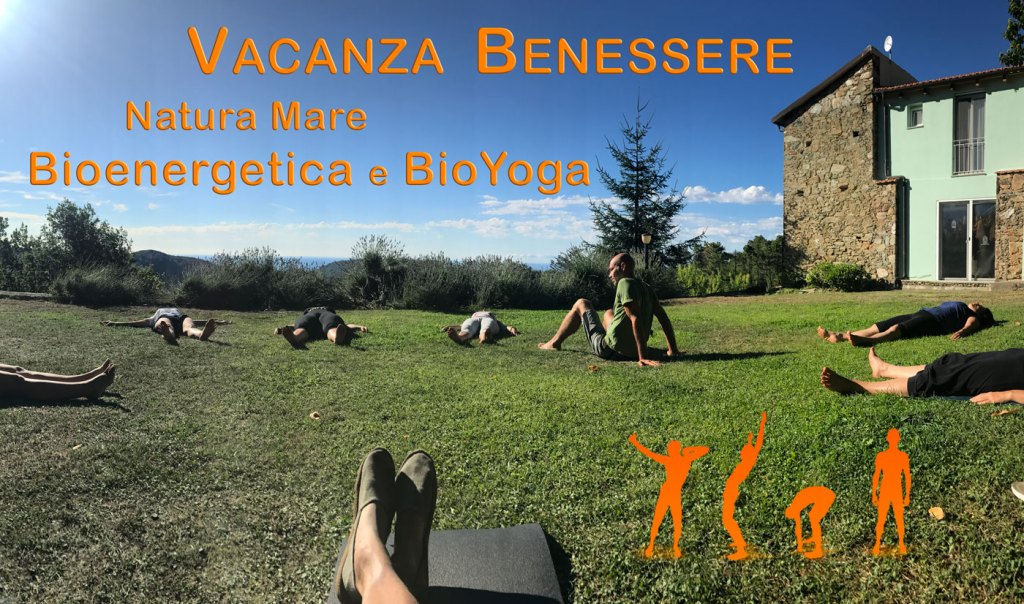 Vacanza Benessere 2020 Natura Mare Bioenergetica Bioyoga