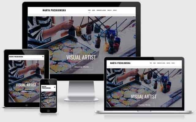 Visual Artist Website