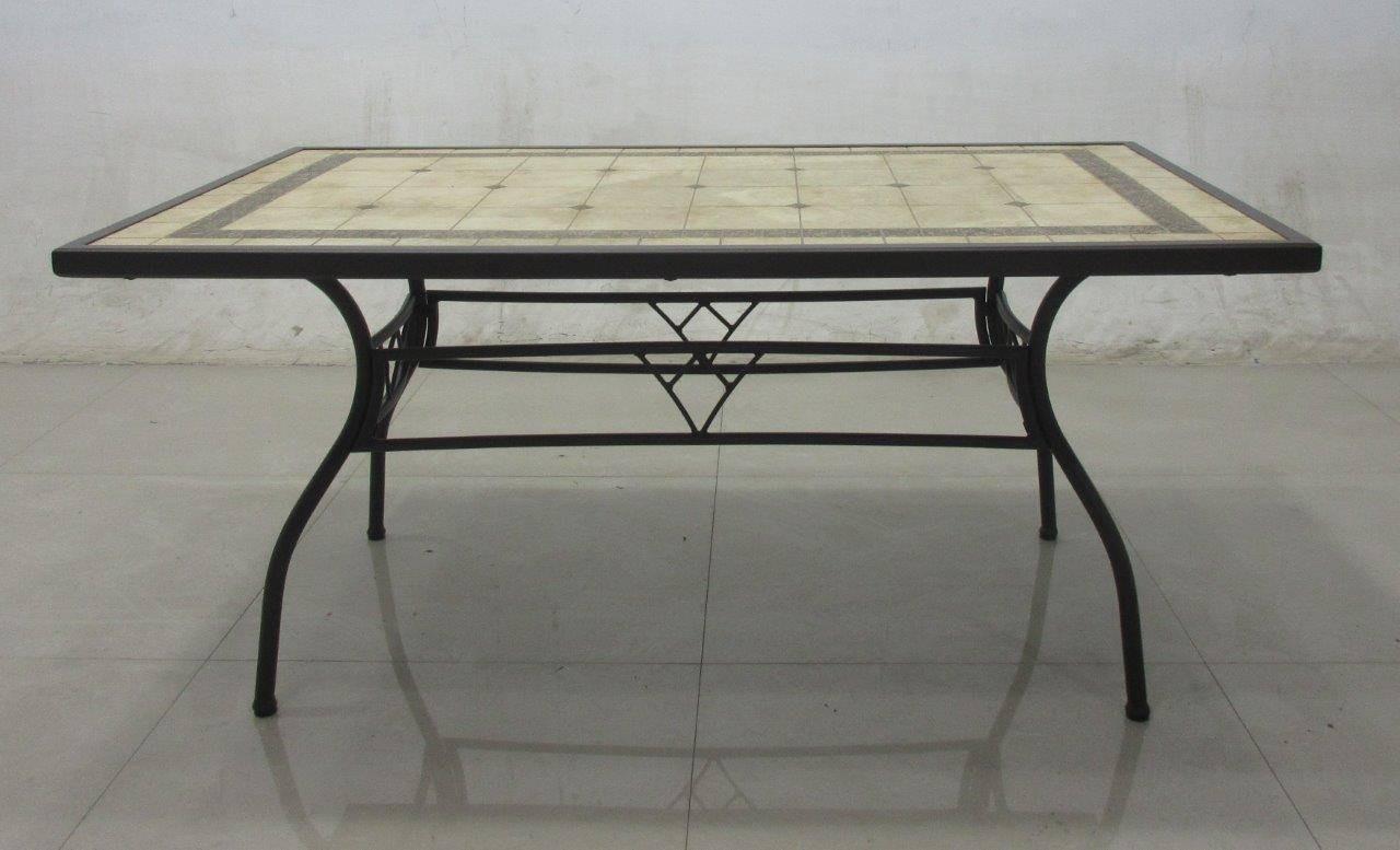 Tavolo Da Giardino In Ferro E Mosaico.Tavolo Ferro Battuto Ovale Tavolo Ovale In Noce Antico