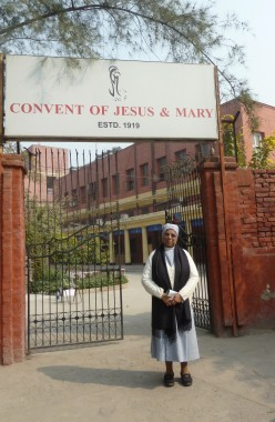 Sister Rose of Kottyam, Kerala, Provincial of all CJMs in North India