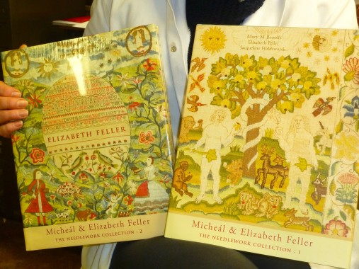 The two books about the Feller collection