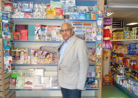 Mr Shaukat Ali, owner of the Jericho Stores for 40 years