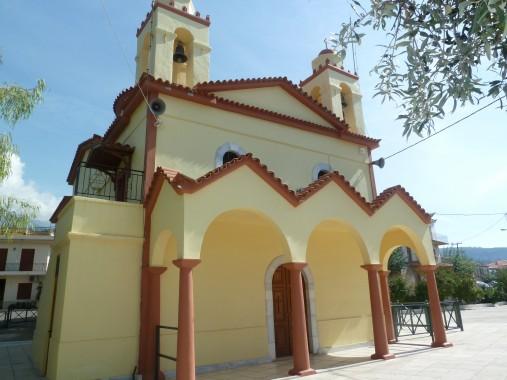 custard cream village church
