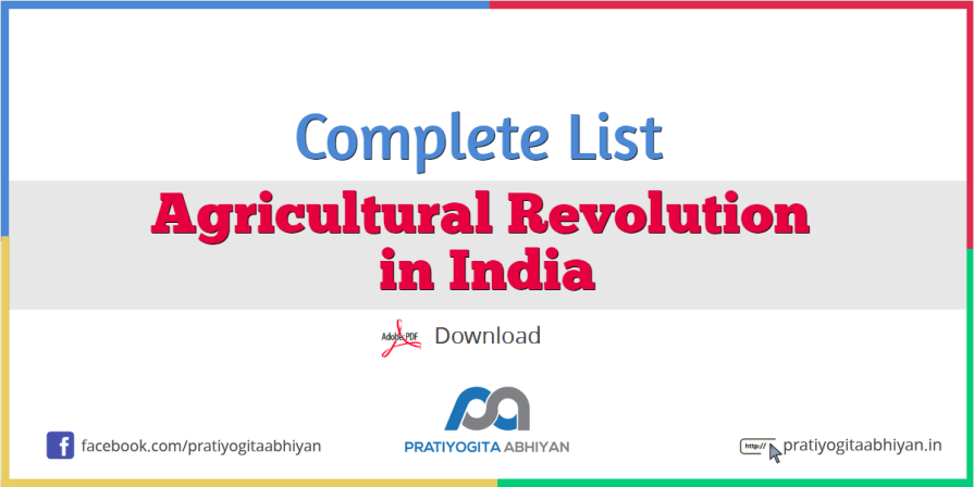 Agricultural Revolution in India