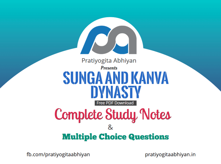 Sunga and Kanva Dynasty (Notes+MCQ) PDF Download