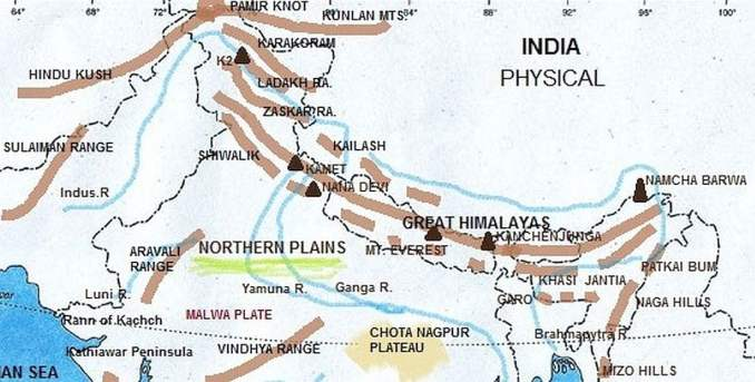 Physiographical Divisions of India (Notes+MCQ) Free PDF Download