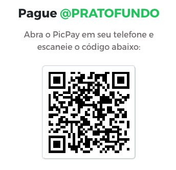 QRCODE do PicPay do PratoFundo