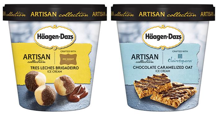 Häagen-Dazs: Tres Leches Brigadeiro e Chocolate Caramelized Oats