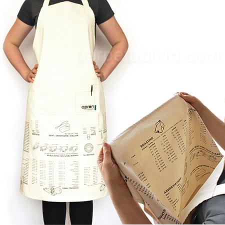 Avental com Dicas de Cozinha