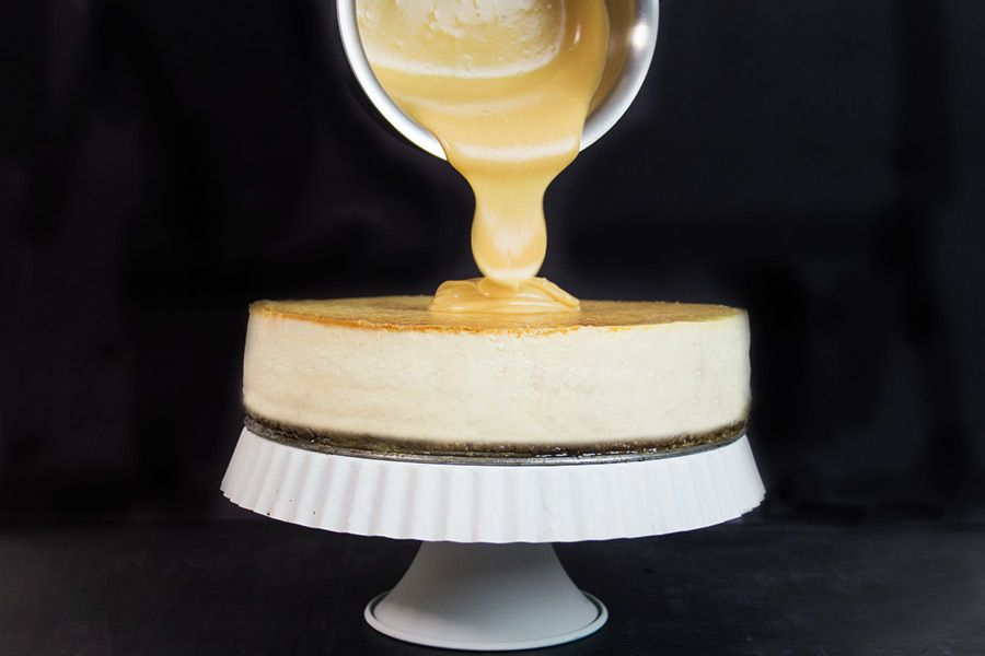 Cheesecake Doce de Leite por PratoFundo.com