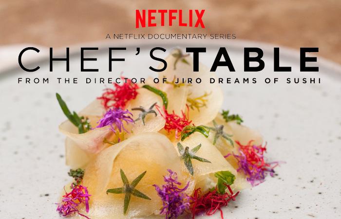 Chef's Table chega à 3º Temporada na Netflix