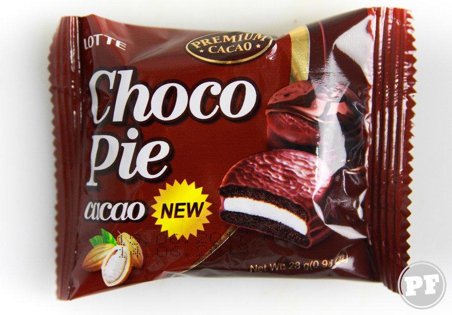Choco Pie Cacao da Lotte por PratoFundo.com