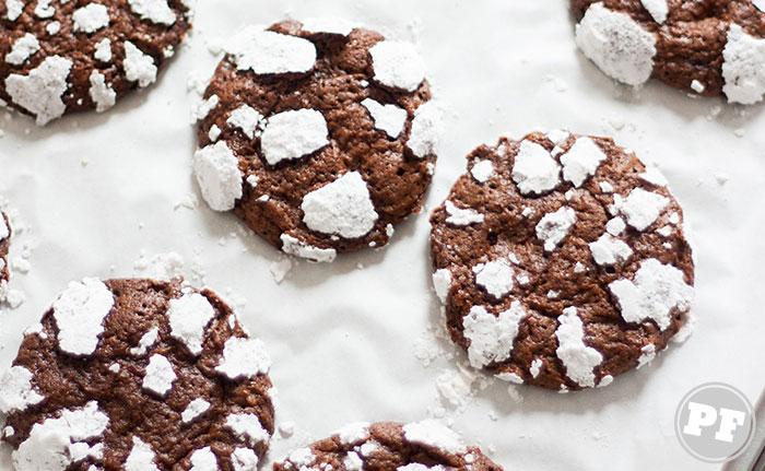 Receita: Cookies Craquelados via PratoFundo.com