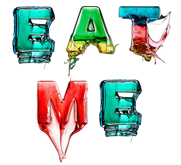 The Candy Alphabet: Alfabeto Doce - EAT ME