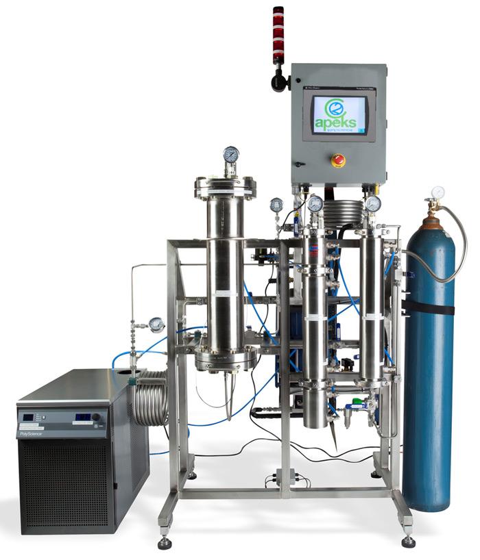 Sistema de Extração com Gás Carbônico Supercrítico