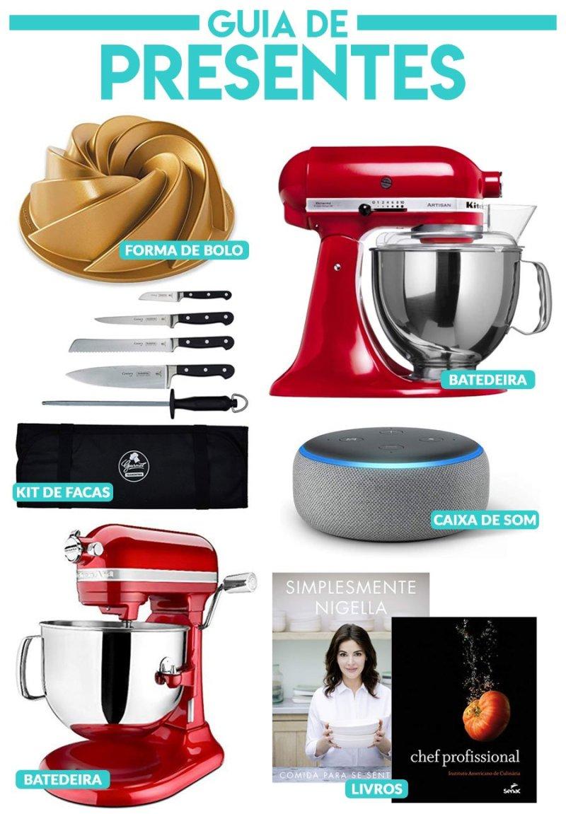 Colagem com vários produtos