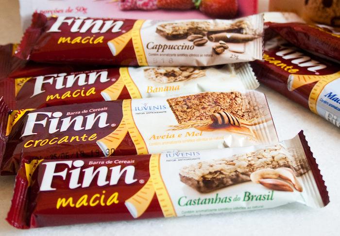 Produtos Finn: Cereal, Barras & Cookies