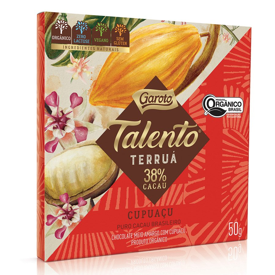 Embalagem do Talento Terruá de Cupuaçu