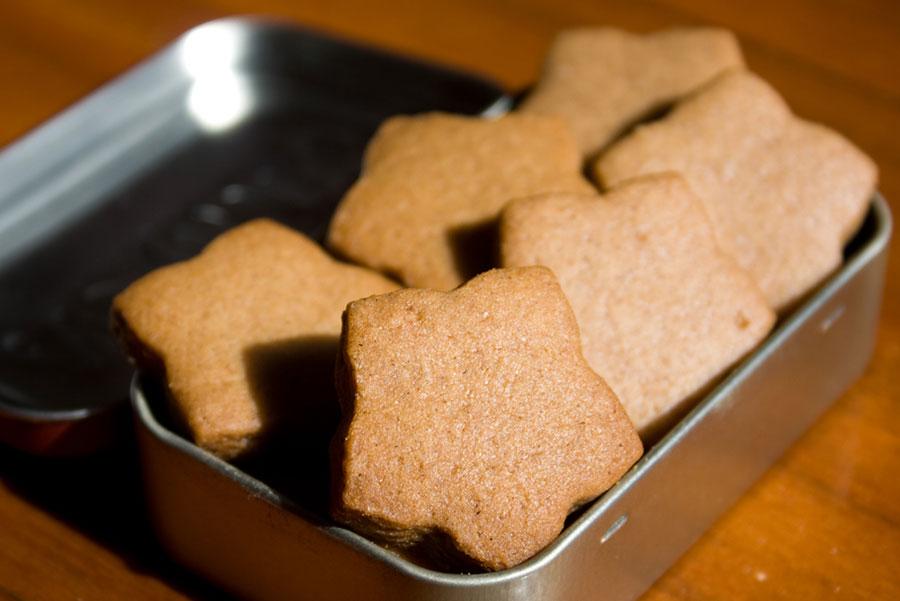 Ginger Biscuit: Biscoito de Gengibre por PratoFundo.com