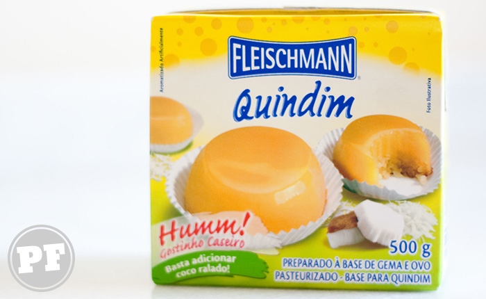 Fleischmann: Quindim de Caixinha