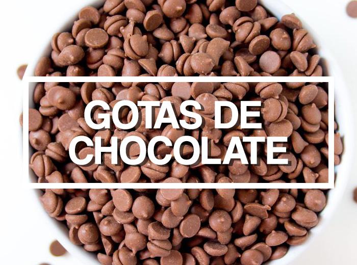 Ingredientes: Gotas de Chocolate por PratoFundo.com
